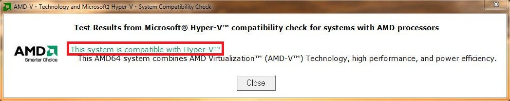 Status Detecção Utilitário AMD