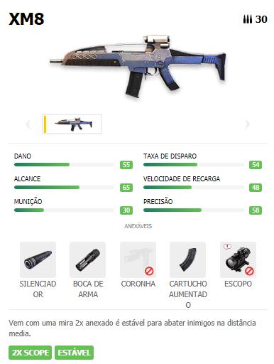 XM8 Arma AR Free Fire
