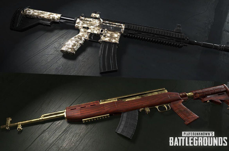 Armas e Itens do Pugb vs Free Fire