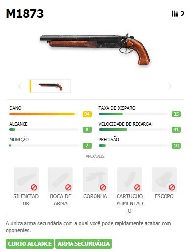 M1873 Pistola Free Fire