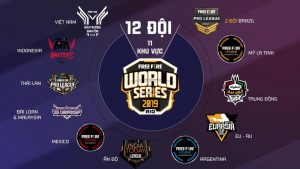 Free Fire World Series Times Classificados
