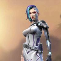 A124 Cyborg Personagem Free Fire