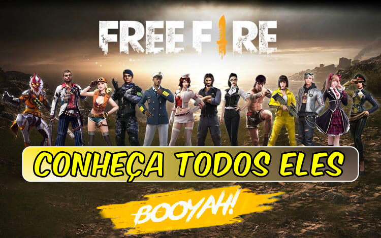 Todos os Personagens de Free Fire e suas Habilidades