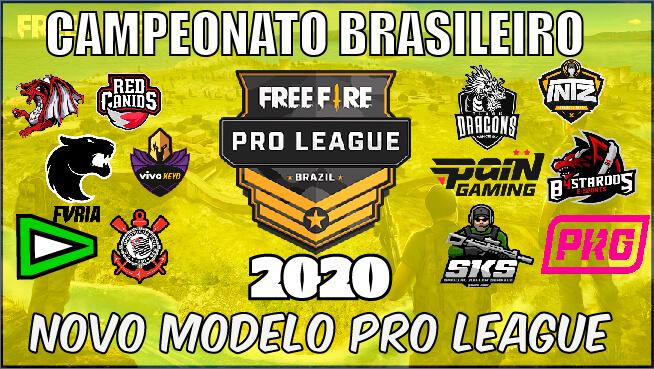 Novo Modelo Pro League 2020