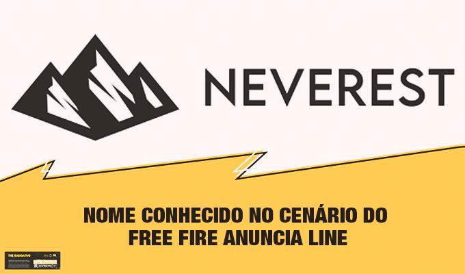 Nome Conhecido no Cenário do Free Fire Anuncia Line 1
