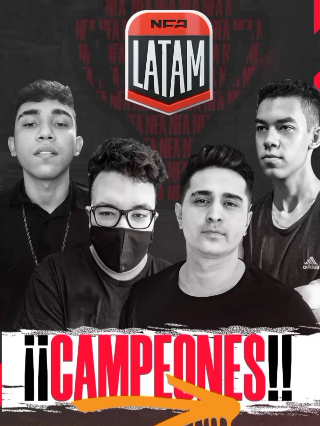 Naguará Campeã NFA Latam 1