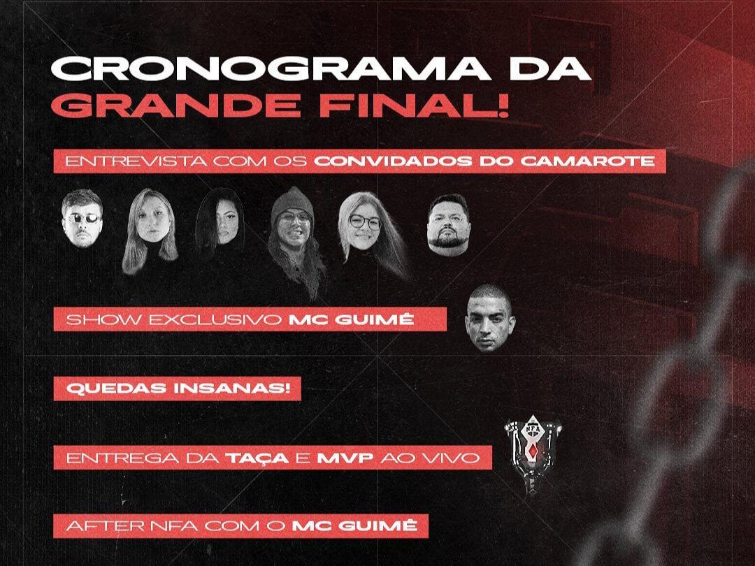 A NFA Confirmou os Convidados da Grande Final 1