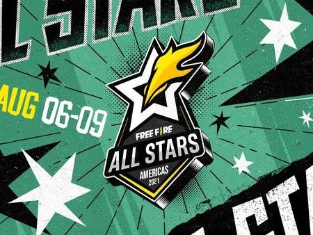 Jogadores do Free Fire ALL STARS confirmados