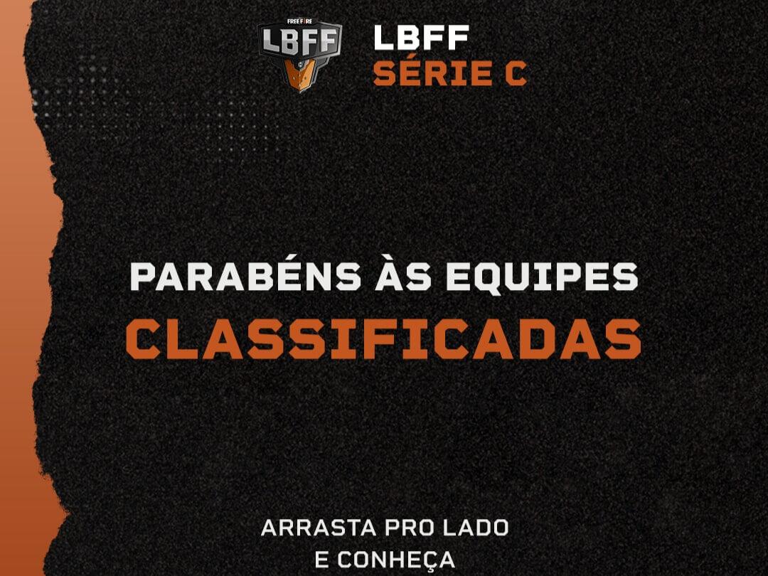 Equipes Classificadas Série C da LBFF