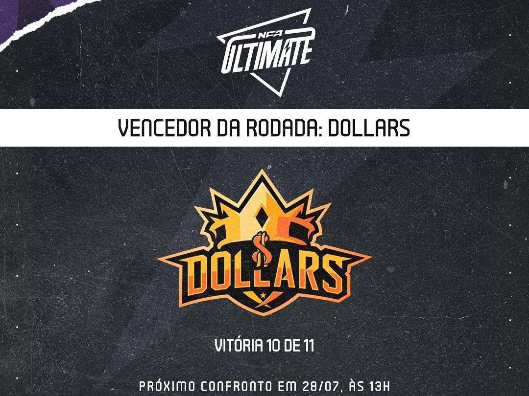 Dollars Chega a 10 Vitórias Na NFA Ultimate