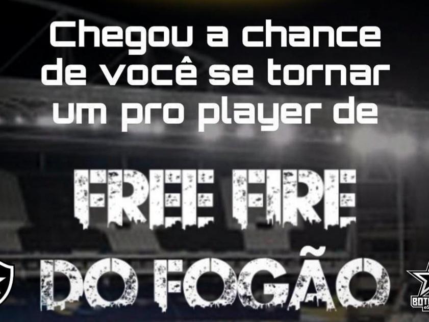 Botafogo Anuncia Peneira de Free Fire