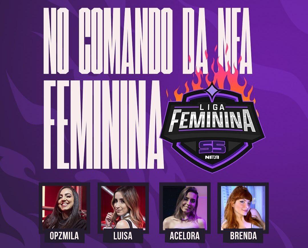 Tabela Rodada 1 da NFA Feminina