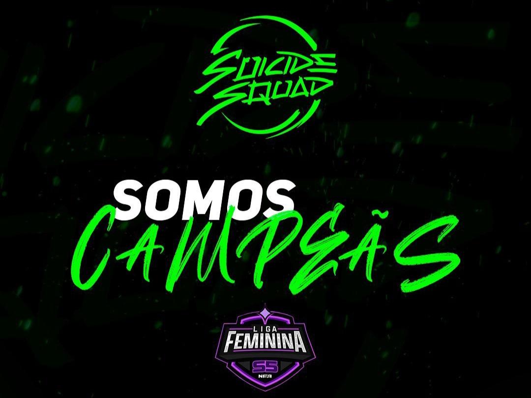 Suicide Squad Campeã NFA Feminina