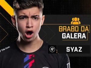 Syaz é o brabo da galera