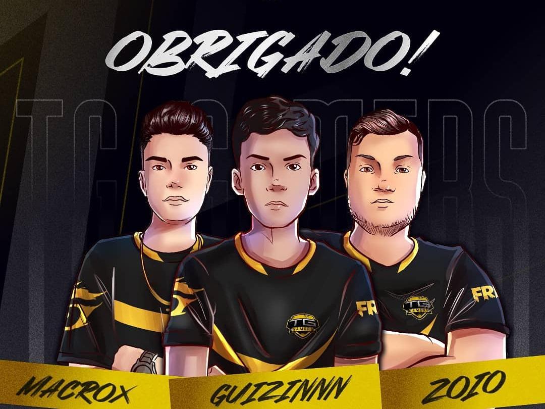 TG se Despede de 3 Jogadores