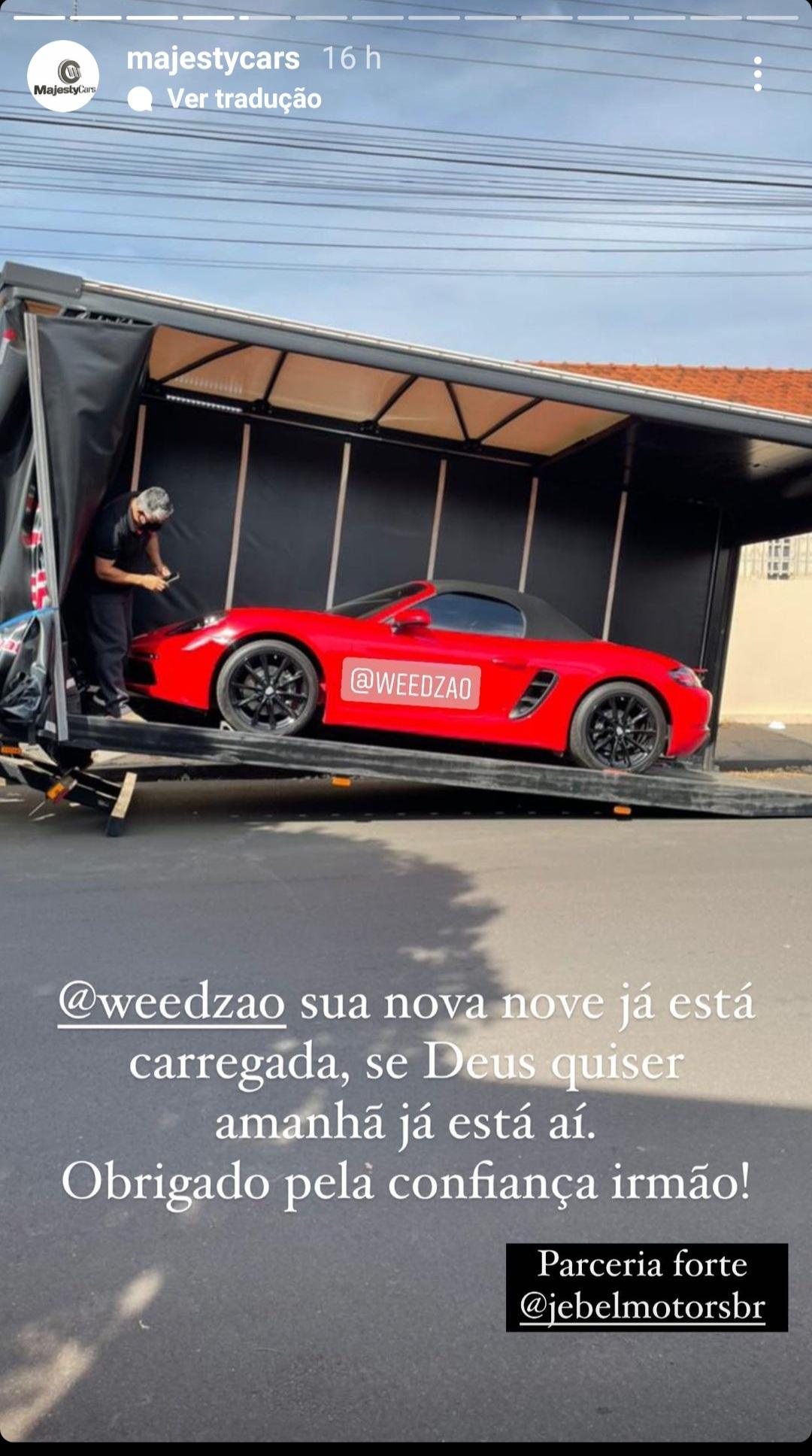 Novo Carro Weedzão