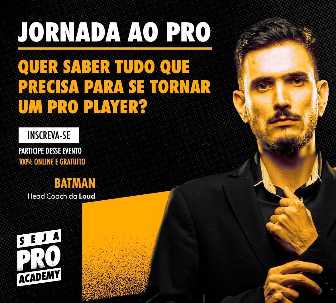 Jornada Do Pro Player: Coach Batman e GB Criaram Um Curso Gratuito