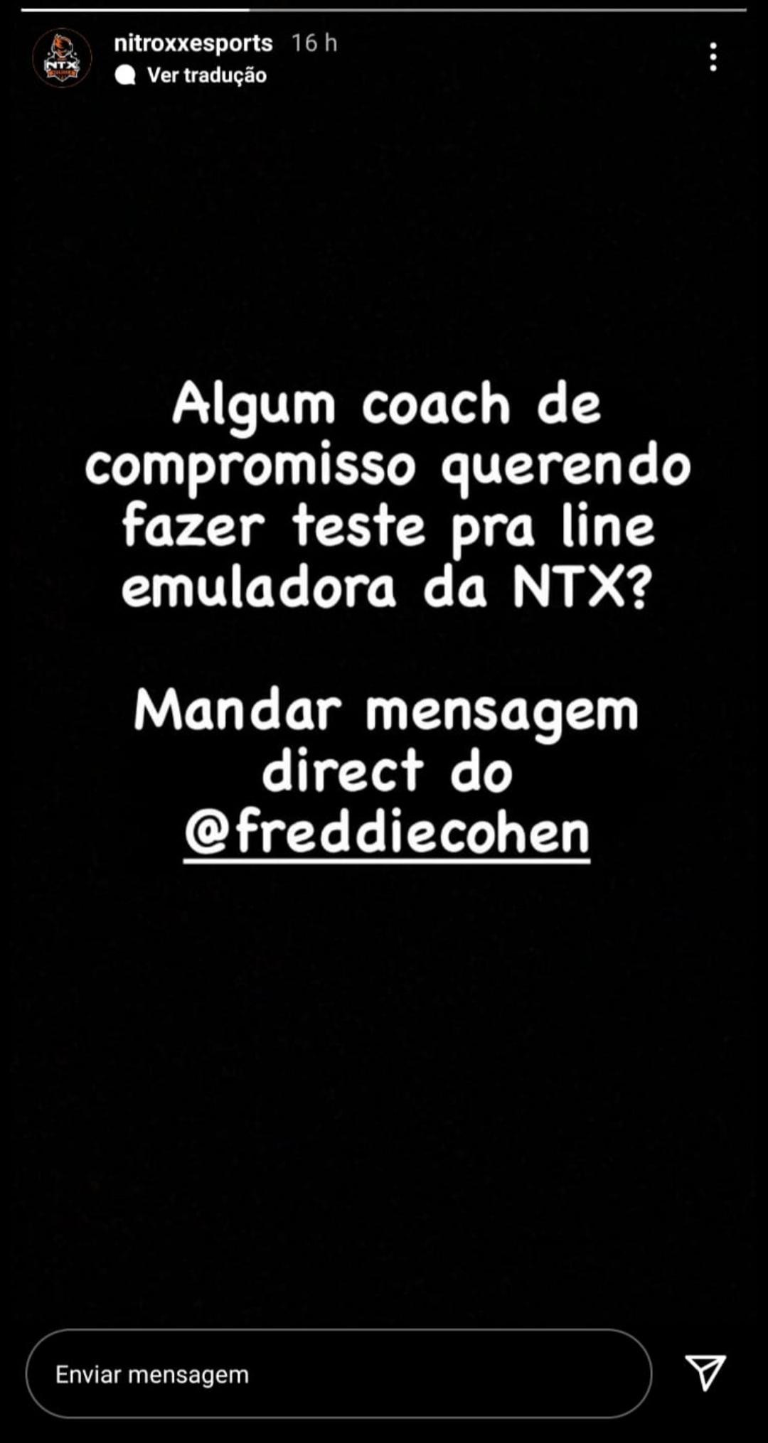 Nitroxx Top10 Busca Coach Para Line Emuladora 1
